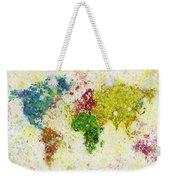 World Map Painting Weekender Tote Bag