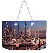 Yacht Marina Weekender Tote Bag