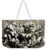 Yale Baseball Team, 1901 Weekender Tote Bag