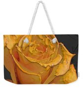 Yellow Rose Art Weekender Tote Bag