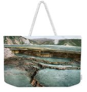 Yellowstone: Hot Spring Weekender Tote Bag