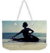 Yoga Weekender Tote Bag