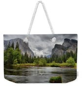 Yosemite's Valley View  Weekender Tote Bag