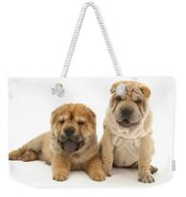 Young Dogs Weekender Tote Bag