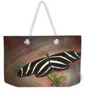 Zebra Longwing  Butterfly-2 Weekender Tote Bag