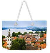 Zemun Rooftops In Belgrade Weekender Tote Bag