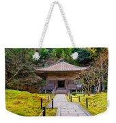 Zen Garden At A Sunny Day Weekender Tote Bag