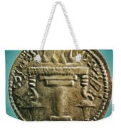 Zoroastrian Fire Altar Weekender Tote Bag