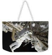 Astronaut Participates Weekender Tote Bag
