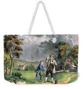 Benjamin Franklin American Polymath Weekender Tote Bag