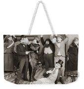 10 Dollars Or 10 Days, 1924 Weekender Tote Bag