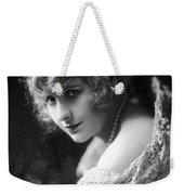 Pearl White (1889-1938) Weekender Tote Bag