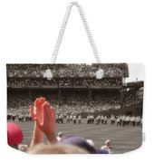 100 Years Weekender Tote Bag by Joann Vitali