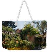 Gardens In Carmel Monastery Weekender Tote Bag