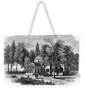 Jefferson: Monticello Weekender Tote Bag