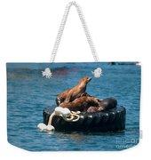 Monterey Harbour Weekender Tote Bag