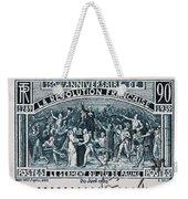 old French postage stamp Weekender Tote Bag