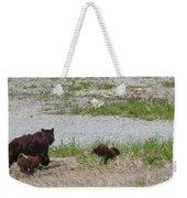 Black Bear Family Weekender Tote Bag