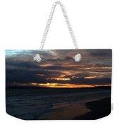 Bournemouth Sunset Weekender Tote Bag