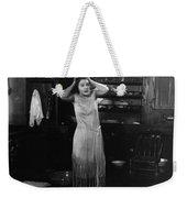 Damsel In Distress Weekender Tote Bag