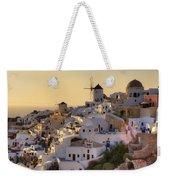 Oia - Santorini Weekender Tote Bag by Joana Kruse