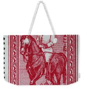 old French postage stamp Weekender Tote Bag