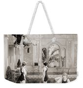 Silent Still: Bathing Weekender Tote Bag