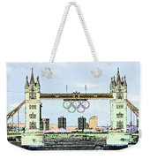 Tower Bridge Art Weekender Tote Bag