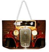 12v Collector Car Weekender Tote Bag