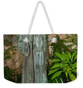 Gardens In Carmel Monastery Weekender Tote Bag