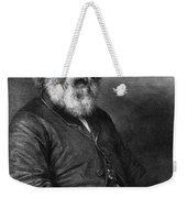 Henry Wadsworth Longfellow Weekender Tote Bag
