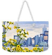 Toronto Skyline Weekender Tote Bag by Elena Elisseeva