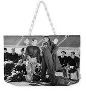 Silent Film Still: Sports Weekender Tote Bag by Granger