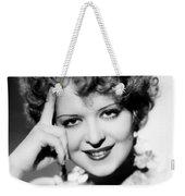 Clara Bow (1905-1965) Weekender Tote Bag