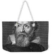 Galileo Galilei (1564-1642) Weekender Tote Bag