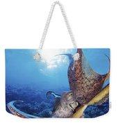 Hawaii, Day Octopus Weekender Tote Bag