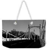The Albert Bridge London  Weekender Tote Bag