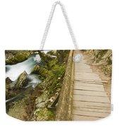 The Soteska Vintgar Gorge Weekender Tote Bag
