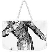 Benjamin Disraeli (1804-1881) Weekender Tote Bag