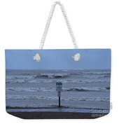 Hurricane Sandy Weekender Tote Bag