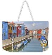 Burano Weekender Tote Bag by Joana Kruse