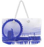 London Eye Art Weekender Tote Bag