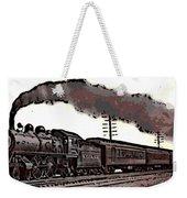 1800's Steam Train Weekender Tote Bag