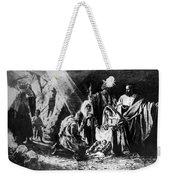1898 Artwork Of Nativity Scene At Nativity Church Weekender Tote Bag
