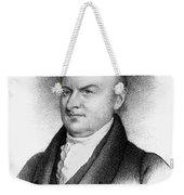 John Quincy Adams Weekender Tote Bag