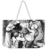Thomas Nast: Santa Claus Weekender Tote Bag by Granger