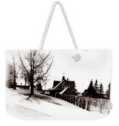 1900 Farm Home Weekender Tote Bag