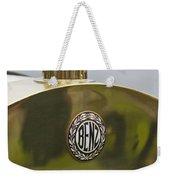1908 Benz Grand Prix Hood Emblem Weekender Tote Bag