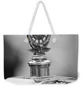 1909 Rolls-royce Silver Ghost Hood Ornament 2 Weekender Tote Bag