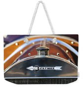 1913 Pathfinder Touring Hood Ornament Weekender Tote Bag